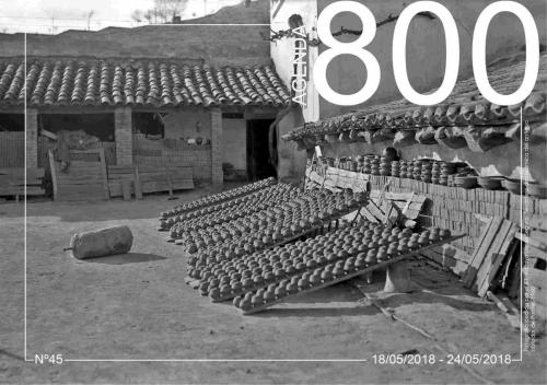 Agenda 45. Secador de ceramica del antiguo obrador de Punter 1960.