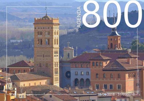 Agenda 46.  Vista aerea de la Plaza del seminario.