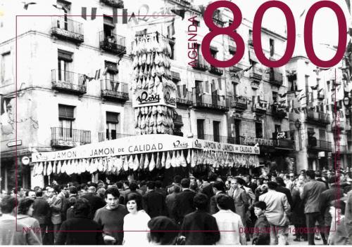 Agenda 12. Primera Feria del Jamón a finales de los 60.
