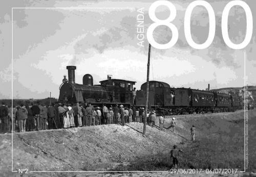 Agenda 2. Llegada del primer tren a Teruel 1901.