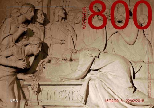 Agenda 33. Fresco de los Amantes de Teruel S/F.