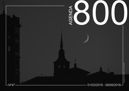 Agenda 47. Fotografia nocturna de la Catedral de Teruel.