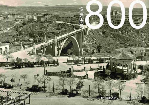Agenda 11. Vista de Viaducto Antiguo 1953.