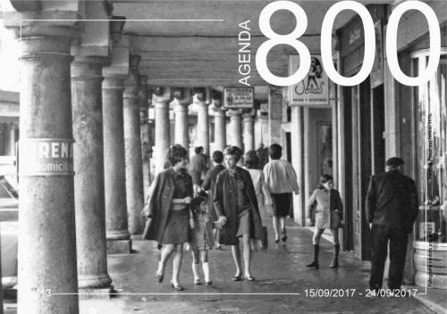 Agenda 13. Porches Plaza del Torico 1970.
