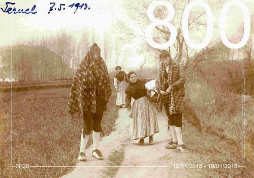 """Agenda 28. """"Lavanderas"""" 1913."""
