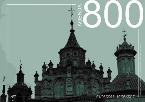 Agenda 7. Cimborrio de la Catedral de Santa María 2017.