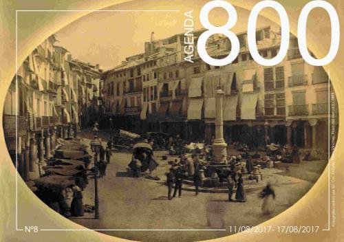 Agenda 8. Plaza del Torico 1895.