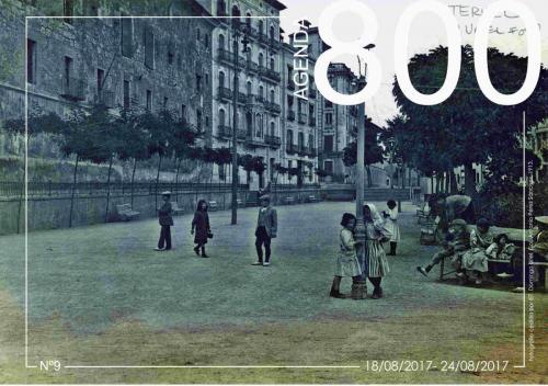 Agenda 9. Plaza de la Glorieta 1913.